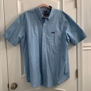 Chaps Easy Care Button Up Lg